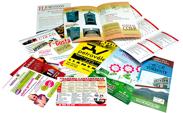 Diseño y venta de flyers, partes de fiesta